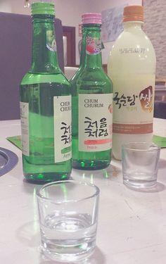 Alcohol Aesthetic, Korean Aesthetic, Aesthetic Food, Japanese Bar, Japanese Snacks, Fruit Drinks, Wine Drinks, Korean Soju, Korean Drinks