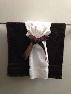Decoracion con toallas para baños  Decoracion de baños