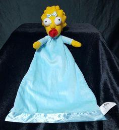 The Simpsons Baby Maggie Simpson Security Blanket Universal Studios 2013 #UniversalStudios