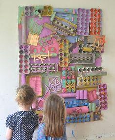 Image result for fun process art reggio square