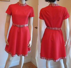 Vintage 60s 70s dress MOD scooter minidress in by vintageartizania, $69.99