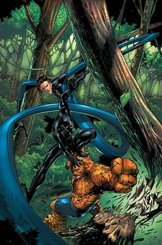 Mister Fantastic and The Thing vs The Black Panther by Carlo Pagulayan #CarloPagulayan #BlackPanther #T'Challa #Wakanda #Avengers #Illuminati #MisterFantastic #ReedRichards #FantasticFour #FF #FutureFoundation  #Defenders #TheThing #BenGrimm #BenjaminGrimm #Thing #NewAvengers #YancyStreetGang #GuardiansoftheGalaxy