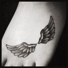 Angel wing tattoo for my baby angel<3