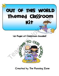 outer space classroom theme, intellig servic, classroom kit, canadian cyber, theme classroom, parent, space theme, cyber intellig, royal canadian