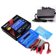 Get Discount High Qualtiy Battery Lipro Balance Charger iMAX charger Lipro Digital Balance Charger Power Adapter + Charging Cables Rc Batteries, Remote Control Toys, Ac Power, Cool Things To Buy, Stuff To Buy, Charging Cable, Consumer Electronics, Video Games, Rc Model