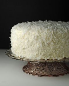 Easter Cake Recipe: rich coconut cake with a cooked coconut buttercream frosting! Coconut Buttercream, Best Buttercream Frosting, Frosting Recipes, Cake Recipes, Dessert Recipes, Desserts, Just Cakes, Cakes And More, Coconut Recipes