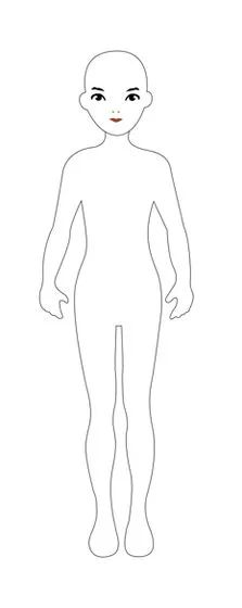 Image titled Draw a Paper Doll Step 1