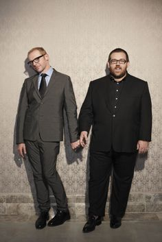 Simon Pegg and Nick Frost