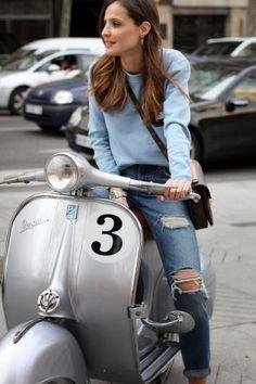"""Silvia Zamora y su blog """"Lady Addict"""" http://shar.es/1aYQ9p #Fashion #Moda #España"""