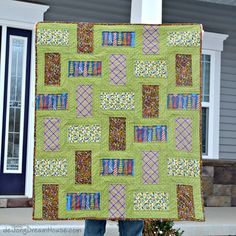 Midweek Makers is a weekly quilt link up party to share projects in progress Snowman Quilt, Baby Quilt Patterns, Rail Fence, Contemporary Quilts, Easy Quilts, Scrap, House, Blanket, Projects