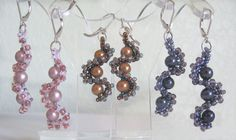 Free Tutorial: Whirlygig Earrings by Jill Wiseman featured in Bead-Patterns.com Newsletter!