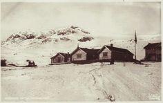 Oppland fylke Vågå kommune Bessheim Sæter, Jotunheimen. brukt 1913. Utg C. A. Erichsen