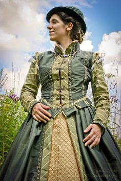 In the Italian style, late 1570s, Elizabethan re-creation.