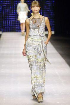 Missoni Spring 2007 Ready-to-Wear Fashion Show - Natasha Poly