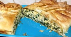 Jamie Oliver's Spinach and Feta Filo Pie
