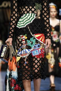 Dolce   Gabbana Spring 2016 Ready-to-Wear Accessories Photos - Vogue 4b238b072fbaf