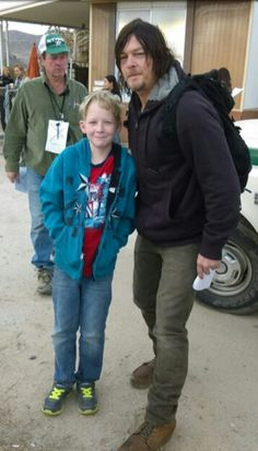 Reedus and Fan boy