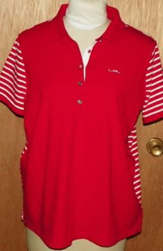e767d4f2 ... coupon code for lrl lauren active ralph lauren red and white striped  polo shirt size 2x