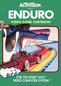 Superclássico do Atari 2600, Enduro foi mais uma das obras de arte da Activision, num game de rally inesquecível.