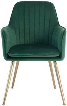 Velvet Accent Chair, Accent Chairs, Quality Furniture, Modern Furniture, Living Room Bedroom, Living Room Decor, Dining Chairs, Dining Room, Green Office