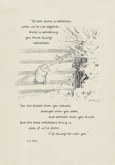 If ever there is tomorrow. Winnie the Pooh Quotes - classic vintage style poster print - If ever there is tomorrow. Winnie the Pooh Quotes - classic vintage style poster print - House At Pooh Corner, Winnie The Pooh Quotes, Eeyore Quotes, Vintage Winnie The Pooh, Winnie The Pooh Friends, Before Wedding, Pooh Bear, Tigger, Cute Quotes