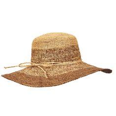 418916e0 Reviews For Tommy Bahama Womens Two Toned Crocheted Raffia Sun Hat Pattern Raffia  Hat, Visors