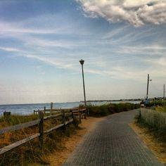 Ocean Beach, Fire Island. NY