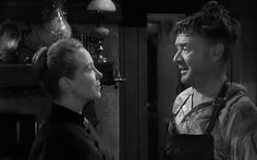 Brenda de Banzie and John Mills in Hobson's Choice (1954), dir. David Lean