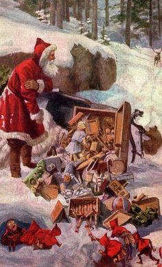 Did Santa fall down?