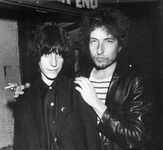 Patti Smith and Bob Dylan http://fashiongrunge.files.wordpress.com/2013/02/42134436019.jpeg