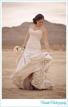 Desert wedding love this dress