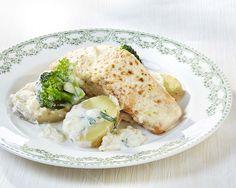 Gratin de saumon au brocoli et aux navets (bébé mange avec vous) | Colruyt
