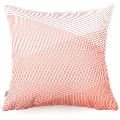 Moncur Peach (One available) Striped Cushions, Peach, Indoor, Throw Pillows, Bed, Collection, Home, Interior, Peaches