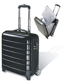 #Business-Trolley-Koffer, #Polycarbonat, #carbon #schwarz, #unzerbrechliches…