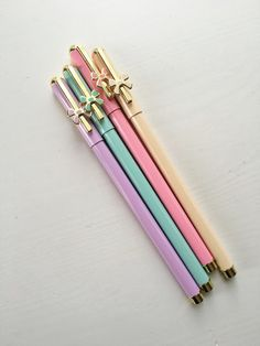 Pastel Series Bow Fine Tip Pens - 0.5mm