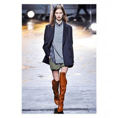 The Boldest Shoe Style For Fall Over-The-Knee Boots featuring and polyvore,