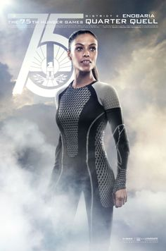 New Catching Fire poster - Enobaria in the Quarter Quell