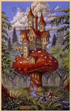 """""""Mushroom Inn,"""" by Randal Spangler"""