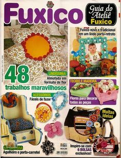 Fuxico Craft Mag - Small handicraft projects.