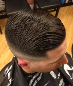Amazing Wet Hairstyles For Handsome Groom 16 Older Mens Hairstyles, Wavy Haircuts, Great Haircuts, Slick Hairstyles, Haircuts For Men, Short Hair Cuts, Short Hair Styles, Side Part Haircut, Dark Hair