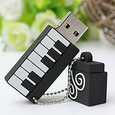 MECO 16 G Go GB Clé USB 2.0 Flash Drive Mémoire Mini Piano Cadeau: Amazon.fr: High-tech