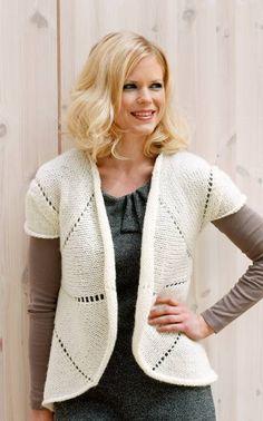 Nordic Yarns and Design since 1928 Knitting Yarn, Knitting Patterns, Crochet Patterns, Knitting Sweaters, Cardigan Pattern, Knit Vest, Crochet Fashion, Pattern Design, Knit Crochet