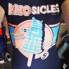 T-shirt Tuesday! Doctor Who - Whosicles