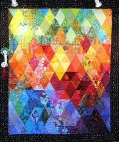 Color Vibrations by Anne Armour at Quilts Dubai 2010