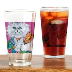 drinking glasses with cats on | interests pets cats cat persian cat morrison