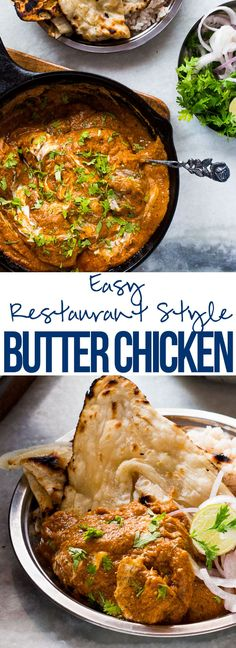 Easy Restaurant Style Butter Chicken Masala (Murgh Makhani) - My Food Story
