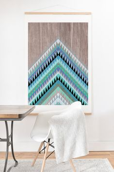 Iveta Abolina High Tide Art Print And Hanger | DENY Designs Home Accessories