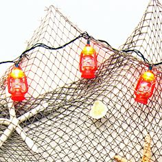 Blue Nautical String Lights : Nautical Blue Admiralty Anchor String Lights anchors aweigh Pinterest Themed parties ...