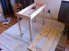 idea for sewing machine table