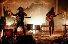 Lovely lighting  #avett brothers #guitars